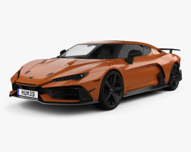 3D model of Italdesign Zerouno 2017
