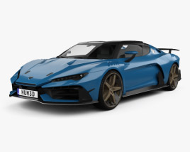 Italdesign Zerouno Duerta 2018 3D model