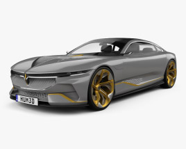 Italdesign Voyah i-Land 2021 3D model