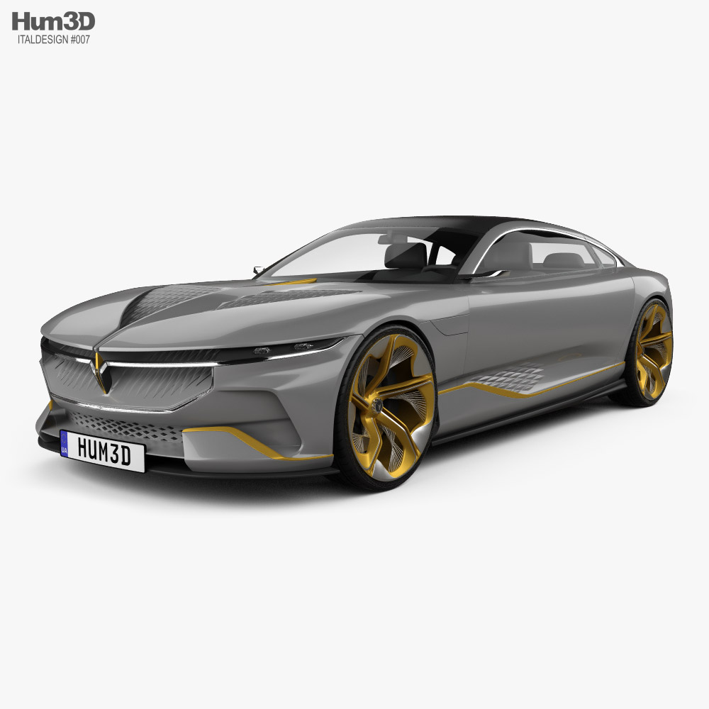 Italdesign Voyah i-Land 2021 3D model