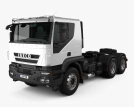 3D model of Iveco Trakker Tractor 2012
