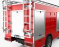 Iveco Trakker Fire Truck 2012 3d model