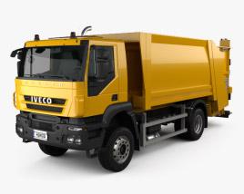 Iveco Trakker Garbage Truck 2012 3D model