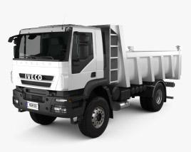 3D model of Iveco Trakker Dump Truck 2012