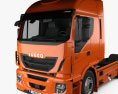 Iveco Stralis (500) Tractor Truck 2012 3d model