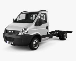 3D model of Iveco Daily Single Cab Chassis L1 2011