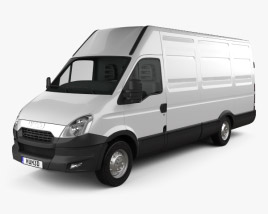 3D model of Iveco Daily Panel Van H2 2011