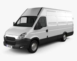 3D model of Iveco Daily Panel Van H2 2011