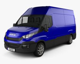 3D model of Iveco Daily Panel Van 2014