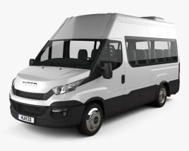 3D model of Iveco Daily Minibus 2014