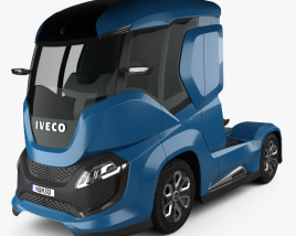 3D model of Iveco Z Truck 2016