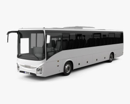 3D model of Iveco Crossway Pro Bus 2013