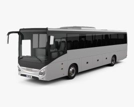3D model of Iveco Evadys Bus 2016