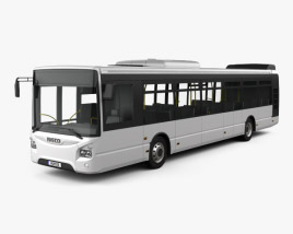 3D model of Iveco Urbanway Bus 2013