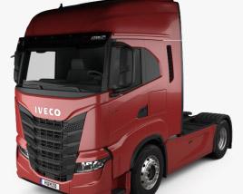 3D model of Iveco S-Way Tractor Truck 2019