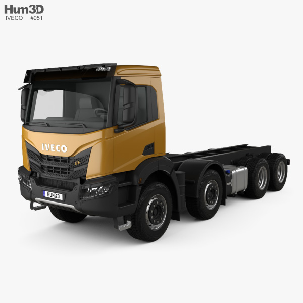 3D model of Iveco X-Way Chassis Truck 2020