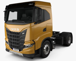 3D model of Iveco X-Way Tractor Truck 2020