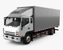 3D model of JAC Shuailing W Box Truck 2013