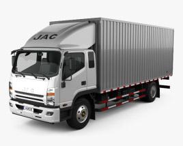 JAC Shuailing W Box Truck 2013 3D model