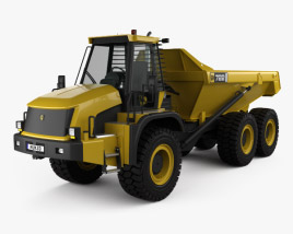 3D model of JCB 722 Dump Truck 2012