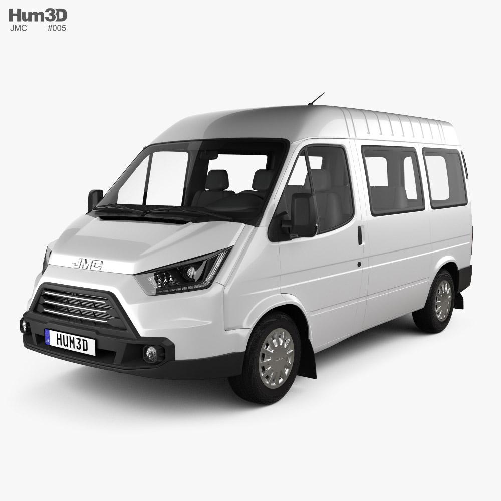 JMC Teshun Passenger Van L1 2015 3D model