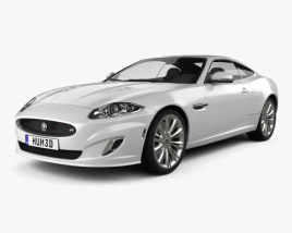 3D model of Jaguar XKR (X150) 2012