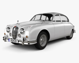 3D model of Jaguar Mark 2 1959-1967