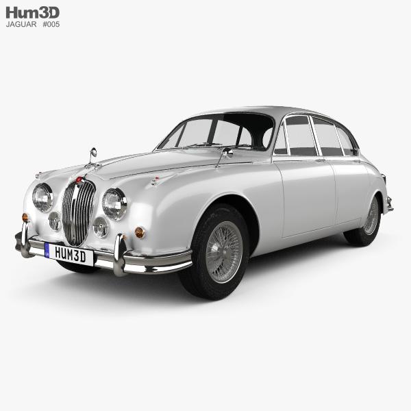 Jaguar Mark 2 1959-1967 3D model