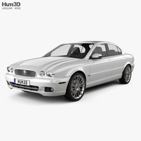 Jaguar X-Type saloon 2009 3D model