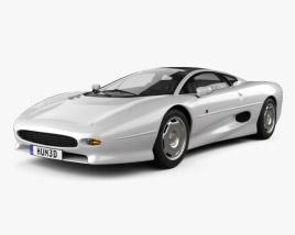 Jaguar XJ220 1992 3D model