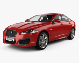3D model of Jaguar XFR 2012