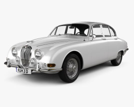 3D model of Jaguar S-Type 1963