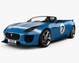 3D model of Jaguar Project 7 2013