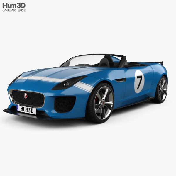 Jaguar Project 7 2013 3D model