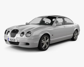 3D model of Jaguar S-Type 2008