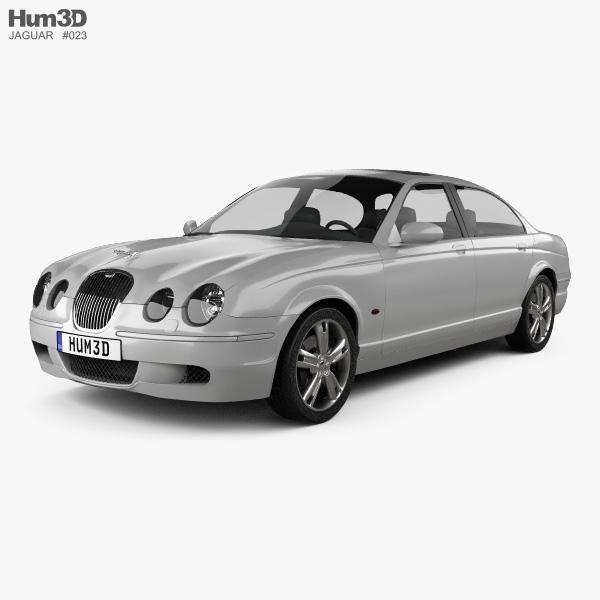 Jaguar S-Type 2008 3D model