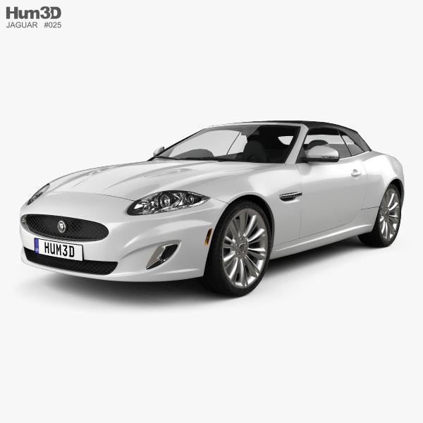 Jaguar XK convertible 2011 3D model
