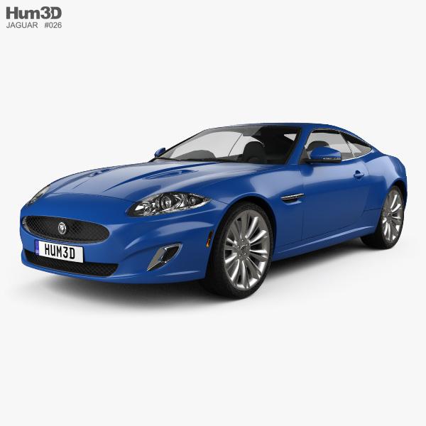 Jaguar XK coupe 2011 3D model