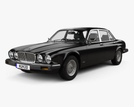 3D model of Jaguar XJ (Series 3) 1979