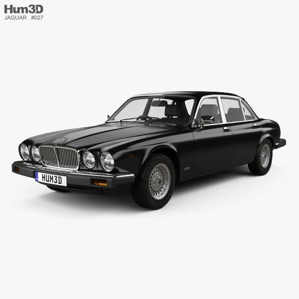 Jaguar XJ (Series 3) 1979 3D model