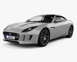 Jaguar F-Type R coupe 2014 3D model
