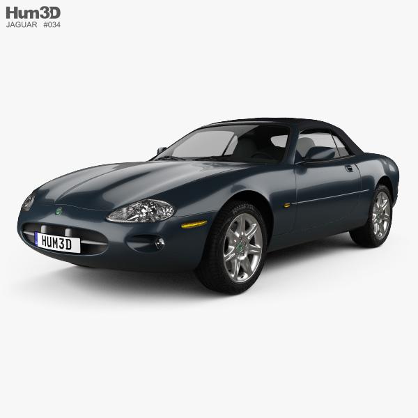 Jaguar XK8 convertible 1996 3D model