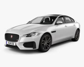Jaguar XF S 2016 3D model