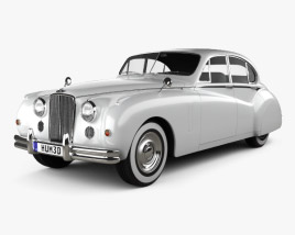3D model of Jaguar Mark VII 1951