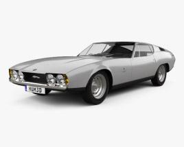 Jaguar Bertone Pirana 1967 3D model