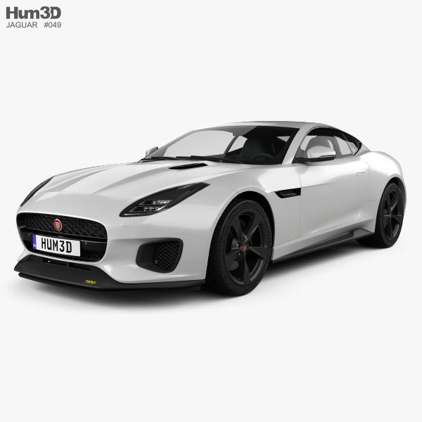 Jaguar F-Type 400 Sport Coupe 2017 3D model