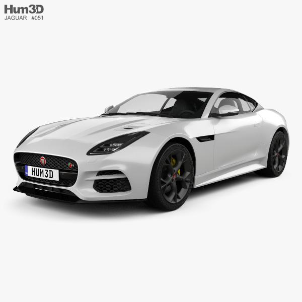 Jaguar F-Type R Coupe 2017 3D model