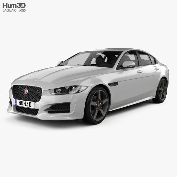 Jaguar XE R-Sport 2017 3D model