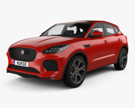3D model of Jaguar E-Pace R-Dynamic 2017