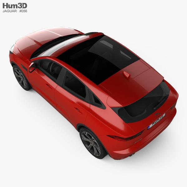 Jaguar E-Pace R-Dynamic 2017 3D model - Vehicles on Hum3D